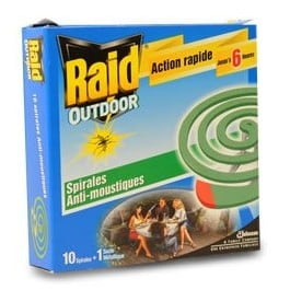 spirale serpentin raid outdoor